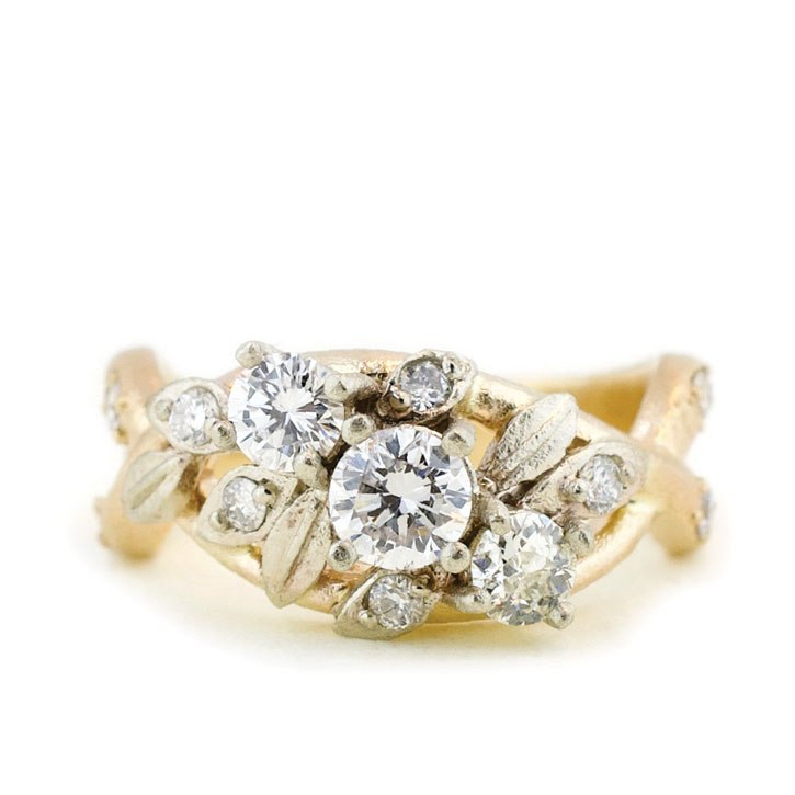 10 Incredibly Unique Engagement Rings That No One Else Will Have