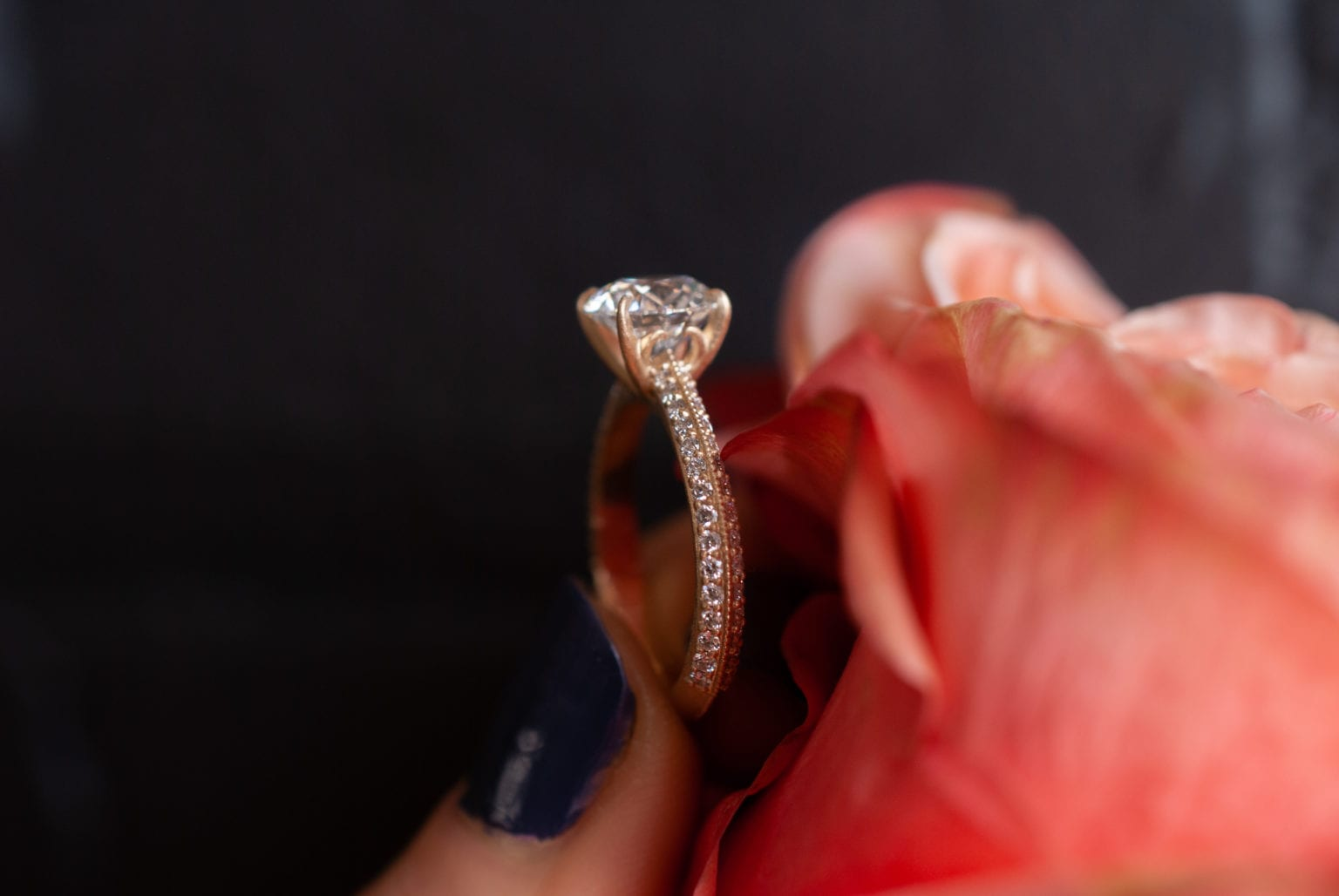 How Did Diamond Rings Become so Popular?